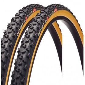 2x Challenge Limus 33 Open Tubular Fahrrad Reifen / 33-622 / 700 x 33 c / schwarz - gum wall
