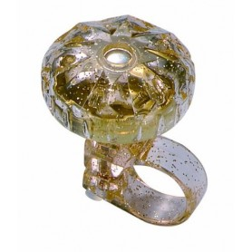 Point Diamond Bell transparent/gold