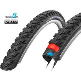 Schwalbe Marathon Gt 365 bicycle tyre 50-559 DualGuard wired reflective black