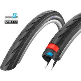 Schwalbe Marathon GT bicycle tyre 50-622 DualGuard E-50 wired reflective black