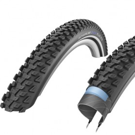 Schwalbe 54-584 Marathon PLUS MTB E-50 Wire Reflex black-skin