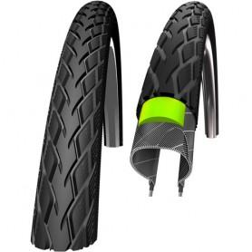 Schwalbe Fahrrad Reifen Marathon GreenGuard - 47-305 - 16x1.75 - Draht, Reflex schwarz
