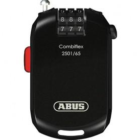 ABUS Combiflex 2501 Zahlen L 65cm 1.6mm stark schwarz