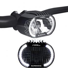SUPERNOVA M99 Pure+ Headlight E-45 black, 12V DC, 1100 Lumen