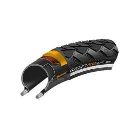 Continental Contact Plus bicycle tyre 28-622 E-50 wired reflective black