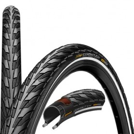 Continental Contact bicycle tyre 28-622 E-25 wired reflective black