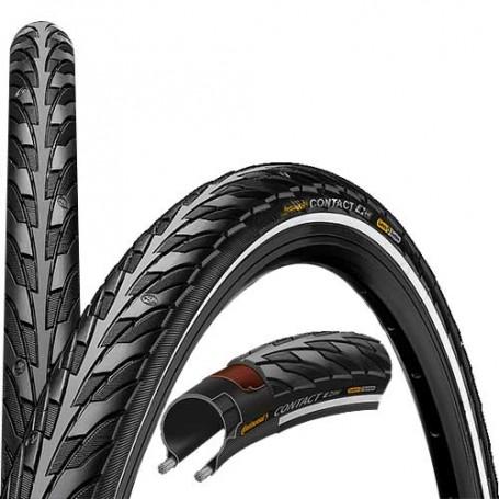 2x Continental Reifen Contact Speed 50-559 26 Zoll E-25 Draht Reflex schwarz