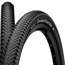 Continental bicycle tyre Double Fighter III wire reflex 37-622 black