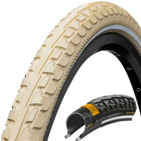 Continental RIDE Tour bicycle tyre 42-622 E-25 wired reflective creme