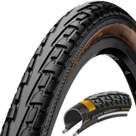 Continental RIDE Tour bicycle tyre 47-559 E-25 wired black/brown