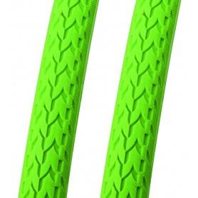 2x Point Faltreifen Fixie Pops Lime-o-Rita 700 x 24C grün