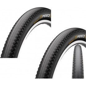 """2x Continental Speed King RS Fahrrad Reifen   26""""   26 x 2.2   55-559   Falt,schwarz-skin"""