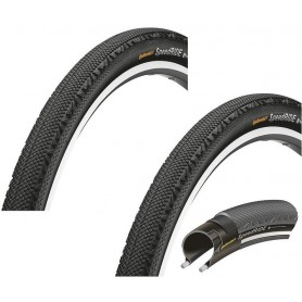 2x Continental 42-622 Speed RIDE Draht, Reflex schwarz-skin