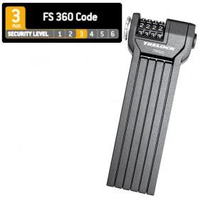 Trelock Folding lock FS360 CODE 85 cm, Holder black