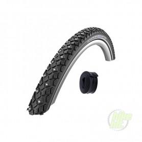 Schwalbe WINTER Fahrradreifen Spike Reifen Reflex Draht +/- passende Schläuche