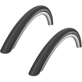 "2x Schwalbe G-ONE TLE Fahrrad Reifen 28""   700 x 35C   35-622   Falt, schwarz"
