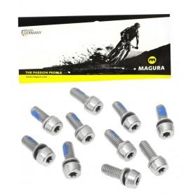 MAGURA PM Screws Steel Torx T25 M6x16 - 10 Pcs.