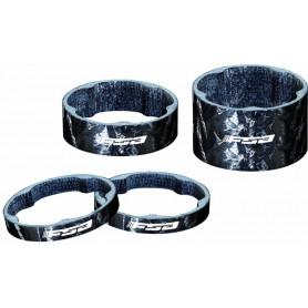 FSA Vorbau Spacer Carbon 1 1/8 Zoll 10 mm schwarz
