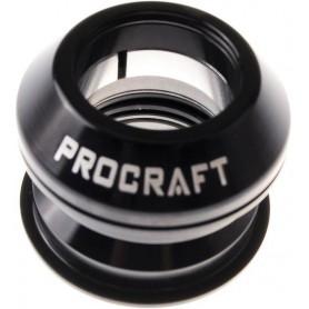 Procraft Headset semi integrated Pro 4450, 1 1/8 inch black