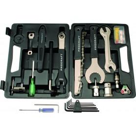 PROCRAFT Werkzeugkoffer Starter, schwarz