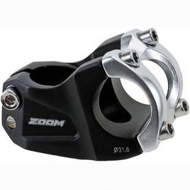 Bike Stem ZOOM Downhill 28,6 x 31,8 50 mm 30° black