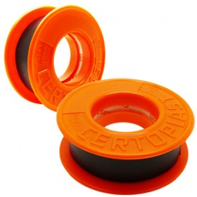 CERTOPLAST black tape 4,5/15mm