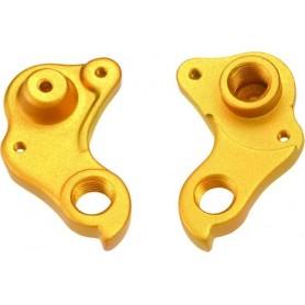 MCG Parts Derailleur hanger ONE.5 Floating Disc gold