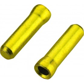 JAGWIRE cable end caps, 1,2mm gold