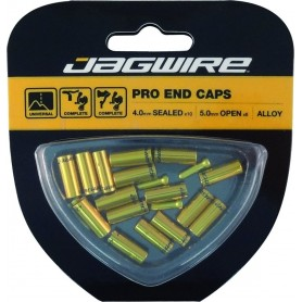 JAGWIRE End cap set Universal Pro, 4 and 5mm gold