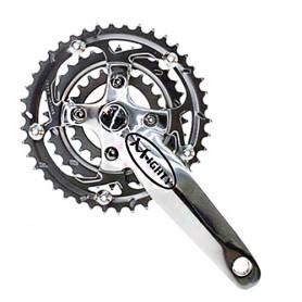 Fahrrad Kurbelsatz Migty 3-fach 42-32-22Z 170mm silber