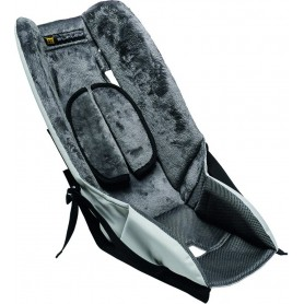 Burley Seat insert Baby Snuggler grey