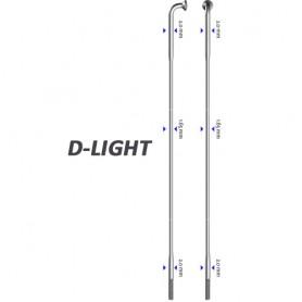 Sapim Spoke D-Light 90° silver 282mm Ø 2,0 x 1,65 x 2,0 / ALN