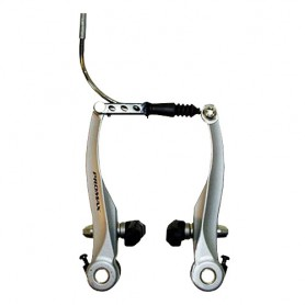 Bike V-Brakes Promax, Alu silver Set for front and rear
