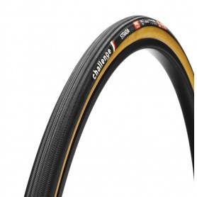 Challenge STRADA PRO Tubular Tyre 25-622 - 700x25C black/brown