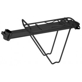 Seat Post Rear Carrier - with quick-release - black
