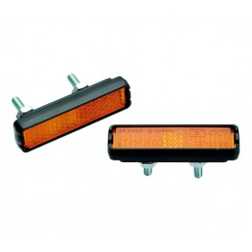 Pedal Reflectors to bolt on - 52 x 12 mm - 4 pieces