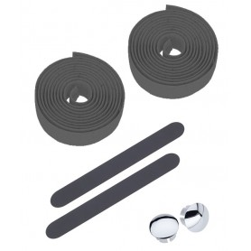 Lenkerband Kork ca. 4 m schwarz