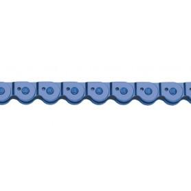 Half Link Kette MK 918 - 1/2 x 1/8 - 102 Glieder - blau