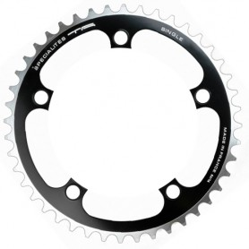 T.A. Chainring Single 38 black, Ø 110 outer/inner