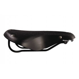 "Touring Saddle ""Cow"" Black CP"