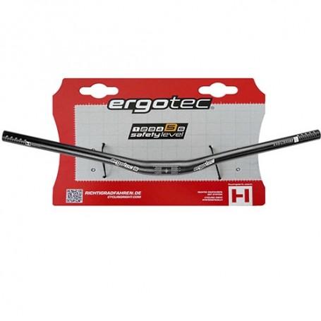 Ergotec Low Riser Aluminium  MTB Lenker 31,8mm 720mm schwarz matt
