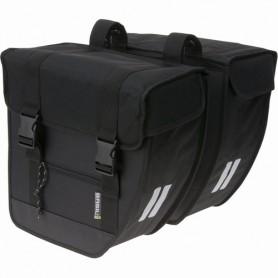 Basil Tour Doppeltasche 35 cm x 12 cm x 32 cm 26 Liter schwarz