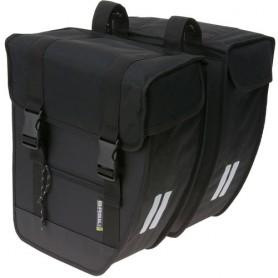 Basil Tour XL Doppeltasche 34 cm x 18 cm x 34 cm 40 Liter schwarz