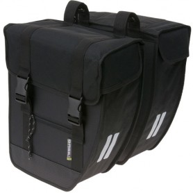 BASIL Double Bag TOUR-XL 40 liter black