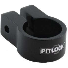 PITLOCK Saddle clamp 31,8 black