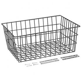 """Unix Carrier Basket """"Maxi"""" black 52 x36 x22 cm"""