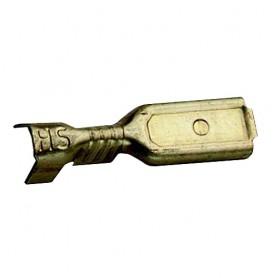 Flachstecker, Metall