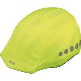 ABUS Regenkappe für Fahrradhelme mit Reflektoren Einheitsgröße gelb schwarz