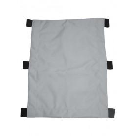 XLC Sonnensegel für Kinderanhänger Mono f.1-Sitzer ab2014 16 silber