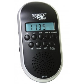 UKW-PLL-Radio MP3 player with rechargeable battery
